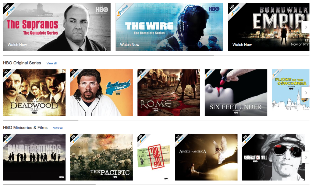 32 HBO shows now available FREE on the Fire TV via Prime