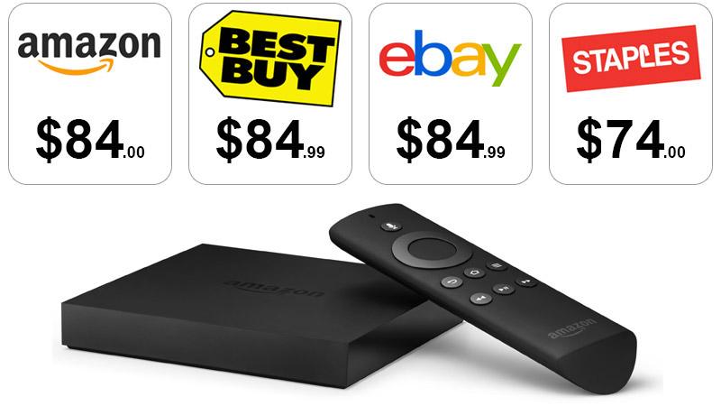 Amazon fire tv best price