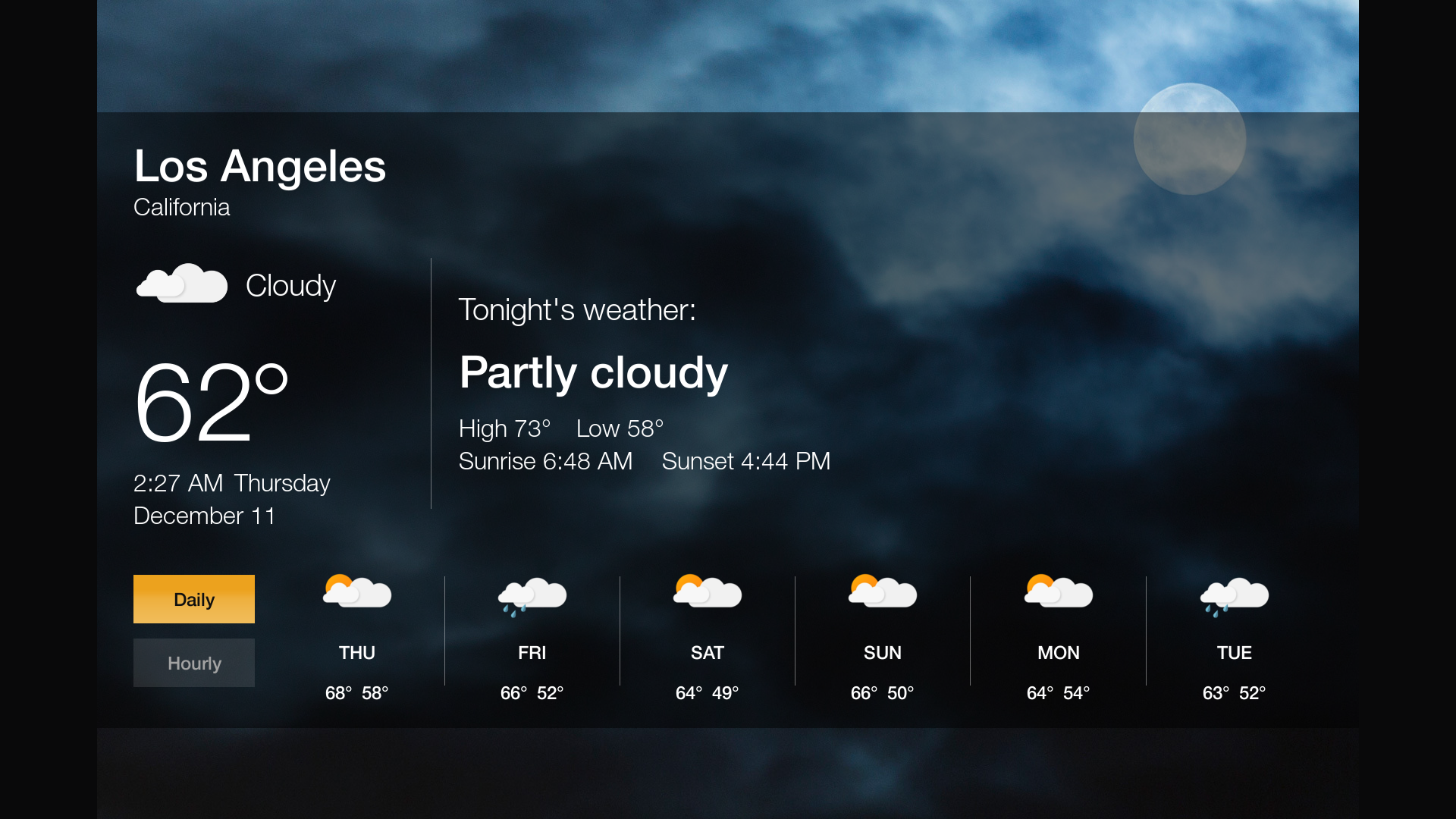 amazon releases official weather app for the fire tv and