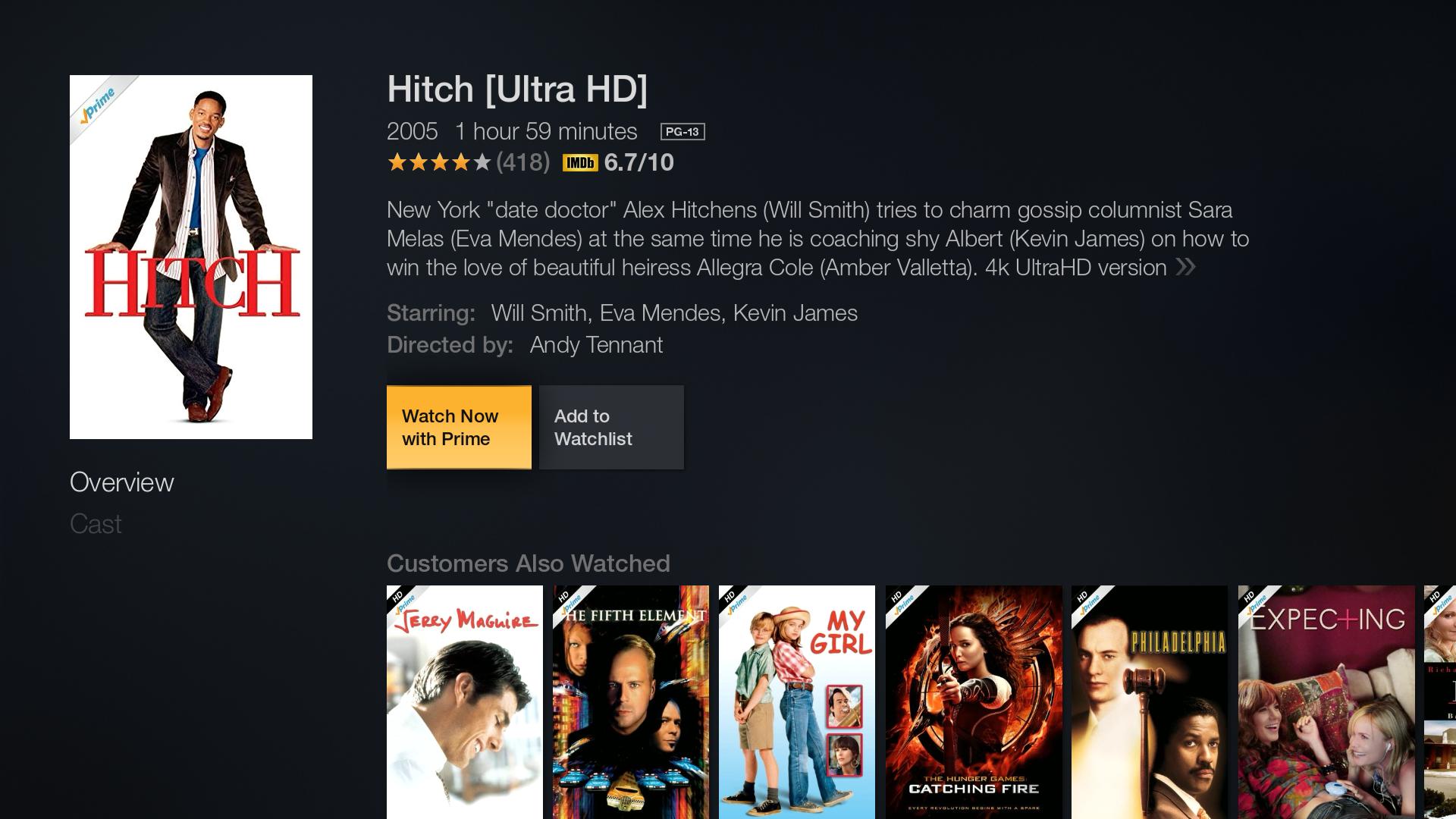 Amazon Video 4k