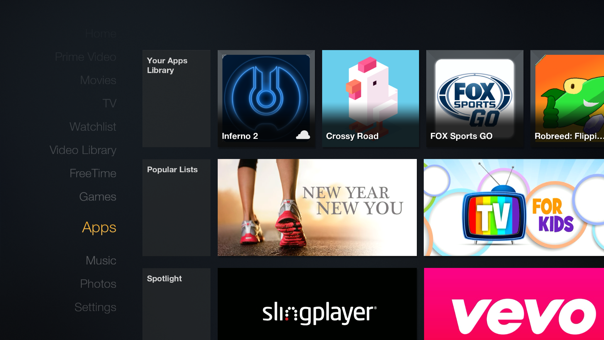 How to update an app on the Amazon Fire TV or Fire TV Stick AFTVnews #C7045B 1920 1080