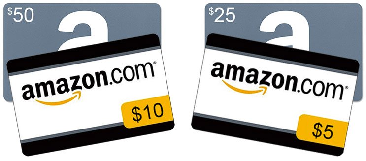 Free Amazon Credit with $25 and $50 gift card purchases | AFTVnews