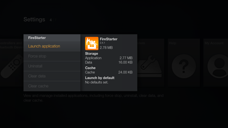 firestarter-app-launch