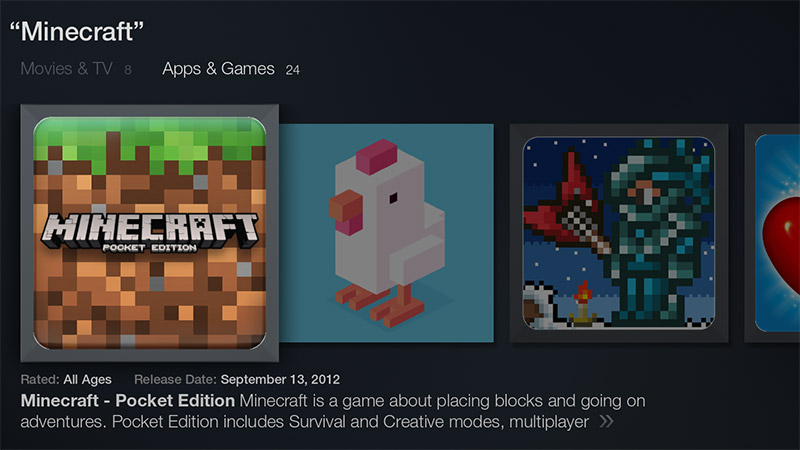 minecraft-fire-tv-appstore-search-result