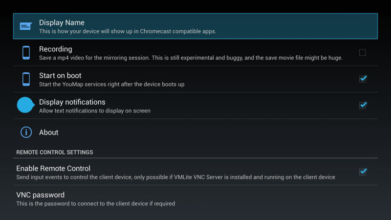 YouMap-settings