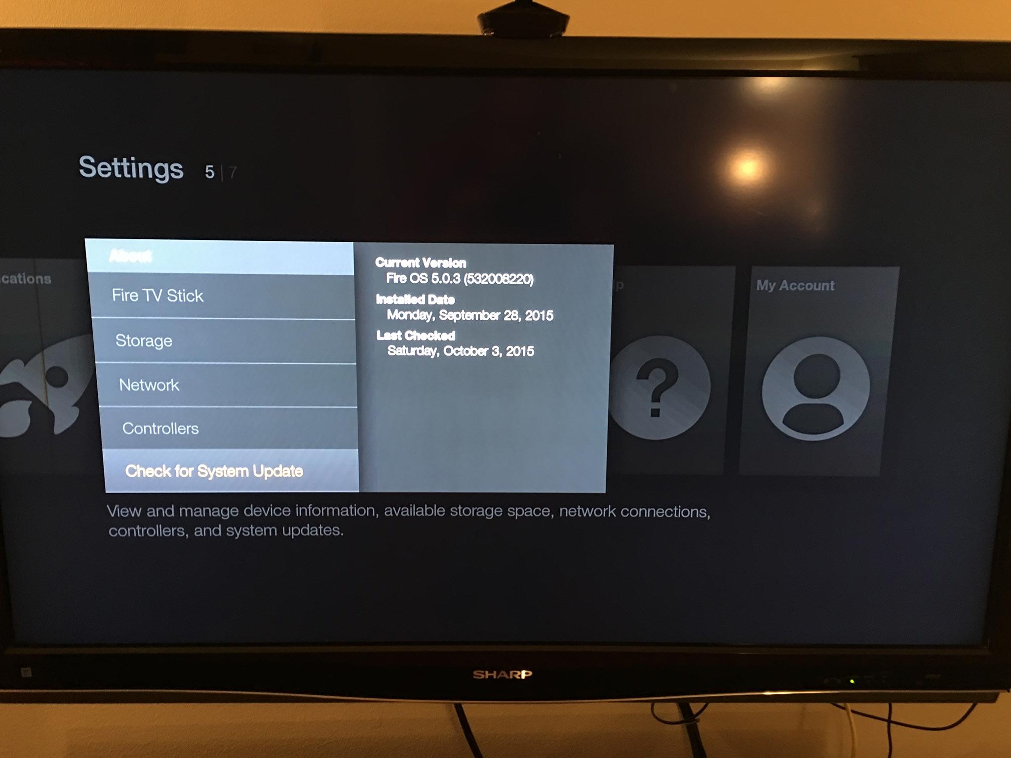 Fire Tv Update