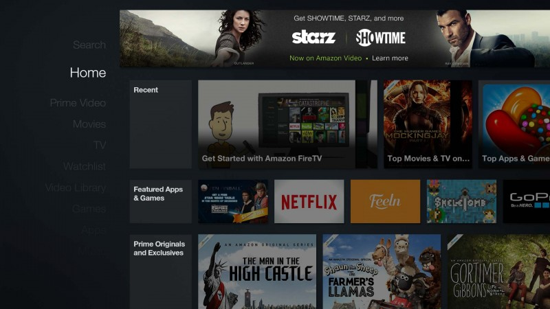 What Amazon's add-on subscription content looks like on the