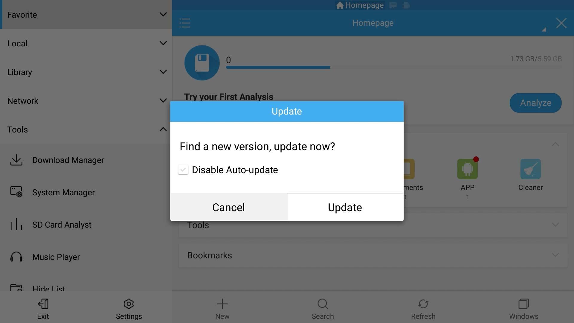origins how to cancel update