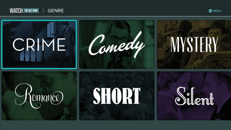 turner-classic-movies-tcm-genre