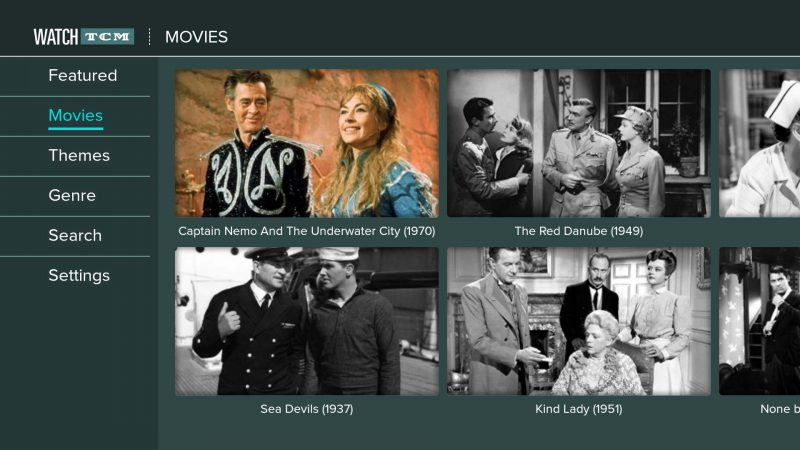 turner classic movies app arrives on the amazon fire tv