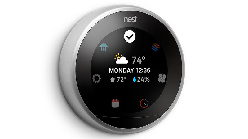 Nest smart thermostat with alexa compatibility on sale for 199 aftvnews - Nest thermostat stylish home temperature control ...