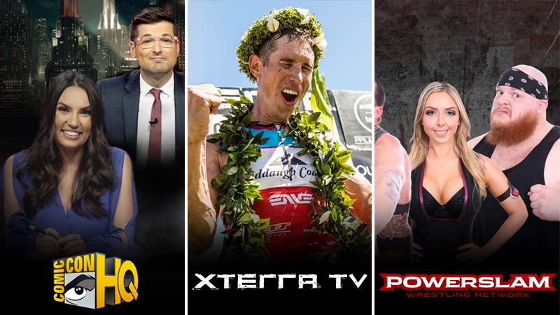 Comic-Con HQ, Xterra TV, and Powerslam Wrestling added to Amazon Prime Add-on Subscriptions