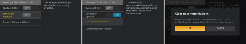 How to access the hidden Developer Tools Menu on the Amazon Fire TV