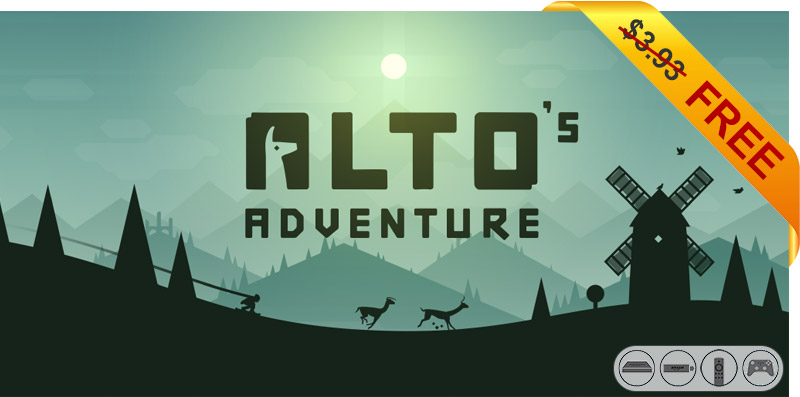 App Deal Alto S Adventure Down From 3 93 To Free Aftvnews