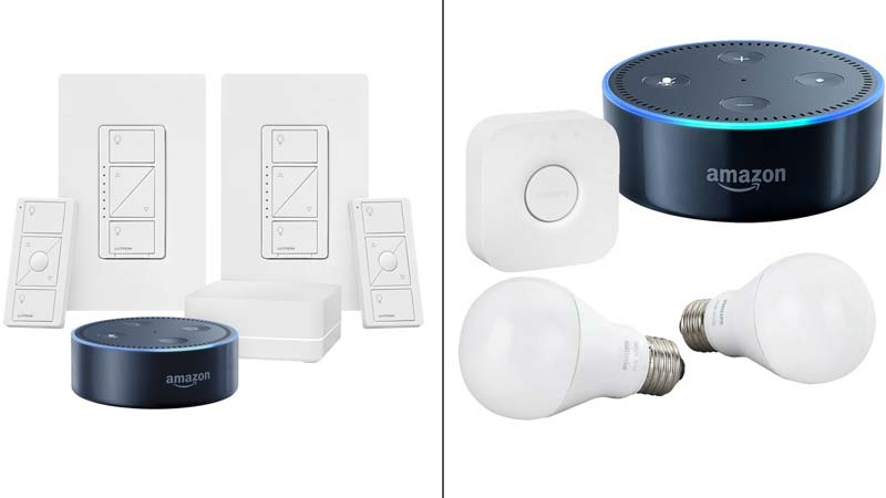 Echo Dot 2 Lighting Kit Deals From Lutron And Philips Hue