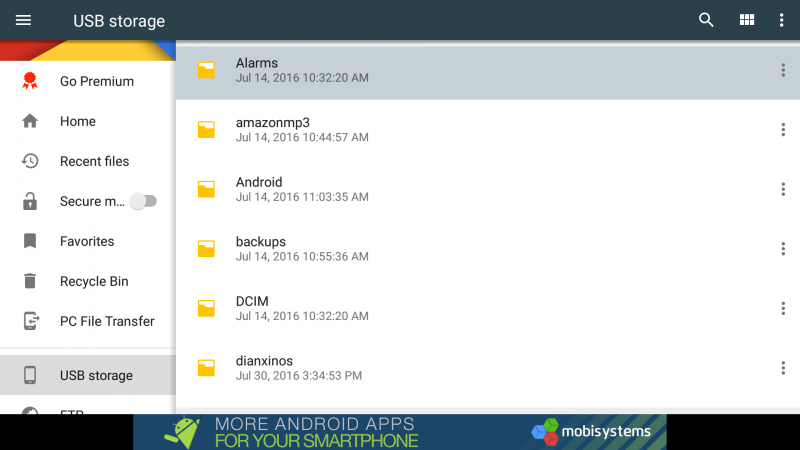 File Commander is a new feature-rich file manager for the Amazon