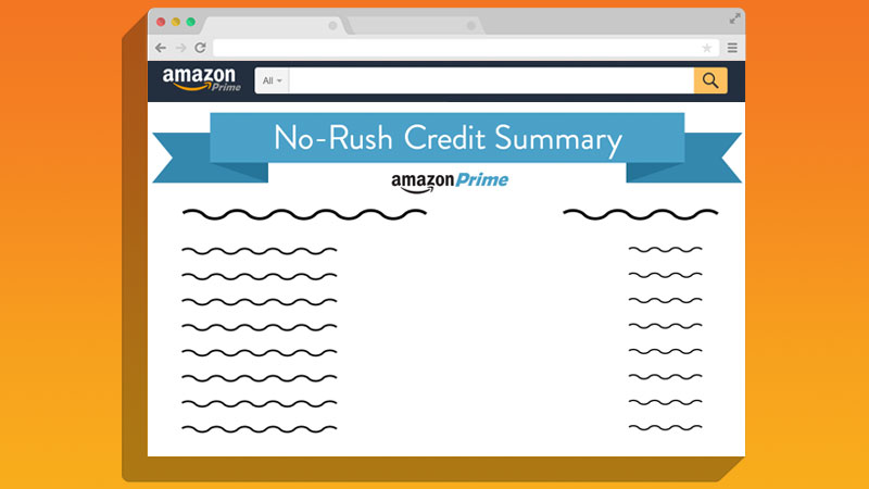 amazon now has a page to view your no rush credit balance aftvnews. Black Bedroom Furniture Sets. Home Design Ideas