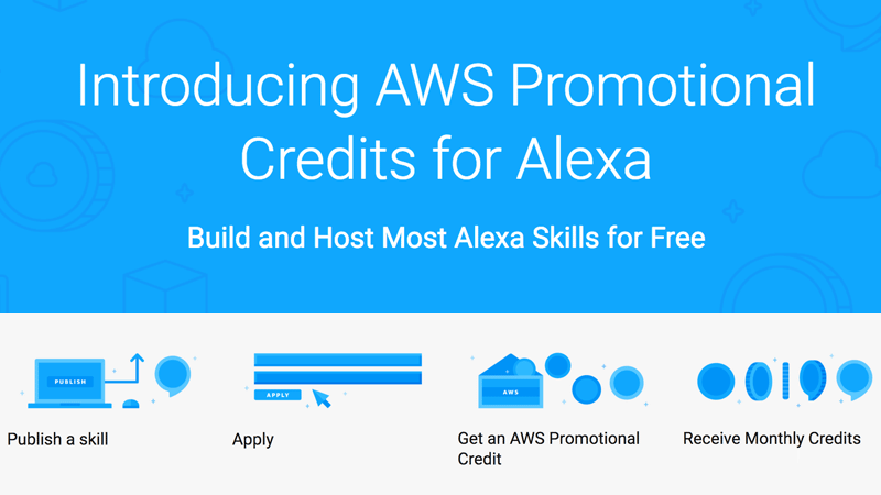 Amazon will pay for Alexa Skill hosting with free $100 monthly