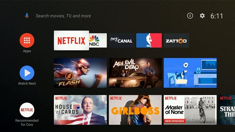 Top 10 things to know about the new Android TV home launcher | AFTVnews