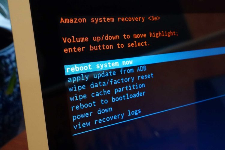 How to enter Fastboot and Recovery Mode on the Amazon Echo Show