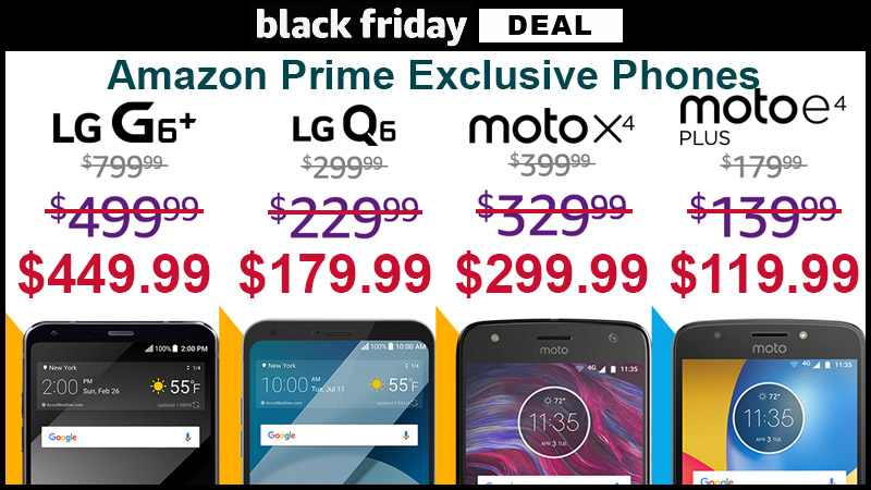 prime exclusive phones from lg and moto are on sale for black friday aftvnews. Black Bedroom Furniture Sets. Home Design Ideas