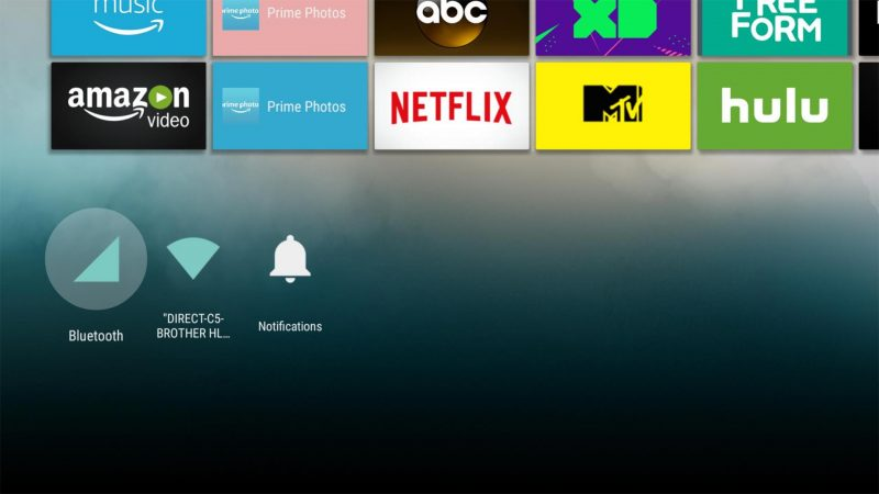 Android TV's Leanback Launcher has been modified to run on the