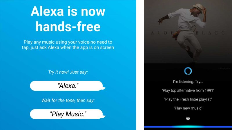 Alexa Hands Free Android