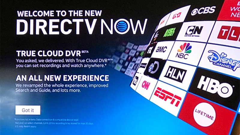 How to resolve issues with the new DirecTV Now app on Fire TV and