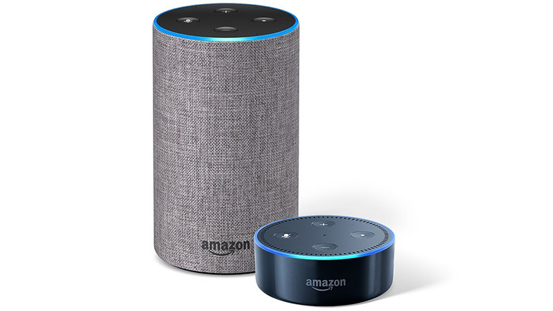 amazon echo and echo dot bundle on sale for. Black Bedroom Furniture Sets. Home Design Ideas