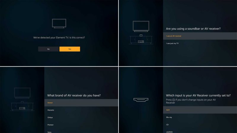 Overview of the Amazon Fire TV Cube's Equipment Control