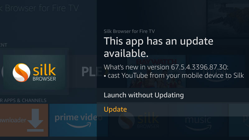 Amazon Silk Browser for Fire TV update adds Casting