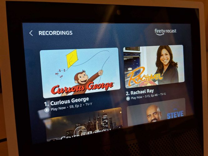 All the different ways to find and record programs on the Amazon