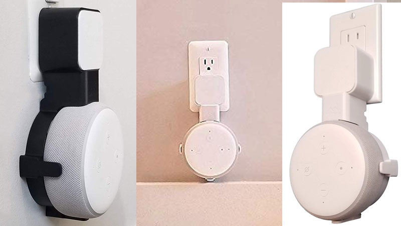 Dot Genie Wall Plug Mount For The Echo Dot 3 Is Now