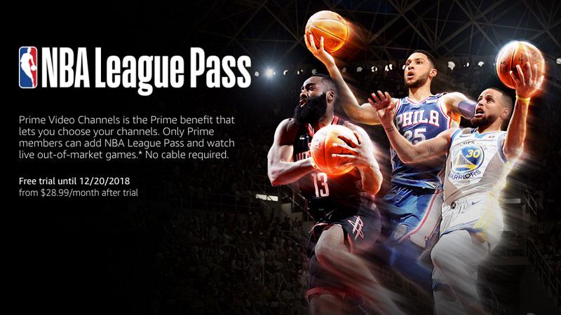 free trial nba league pass 2018