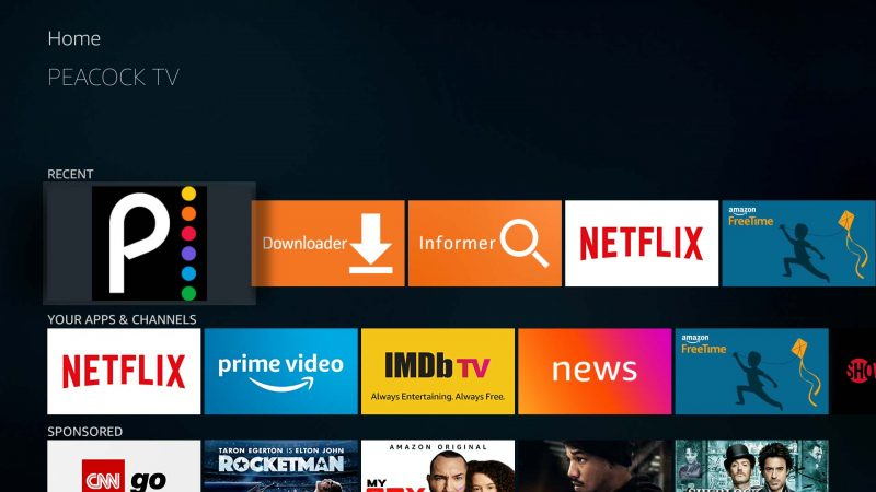 How to update your sideloaded Peacock TV app on Amazon ...